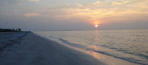 Beach at Sunset 2